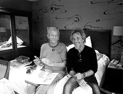 Anthony Russell and Peter Beard